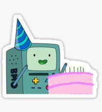Birthday BMO Sticker