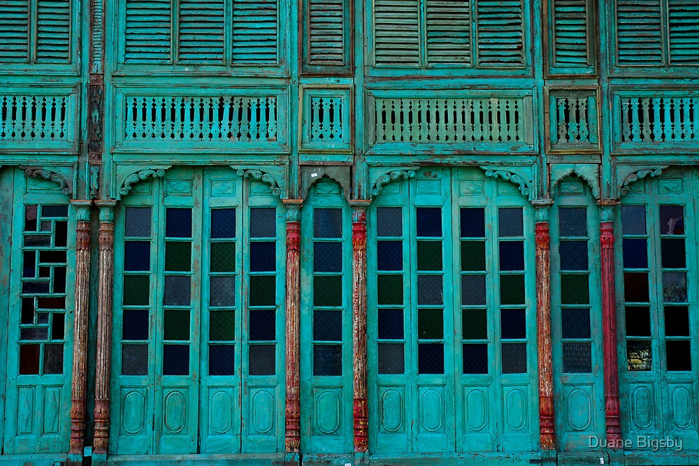 Green Facade Chiang Mai by Duane Bigsby