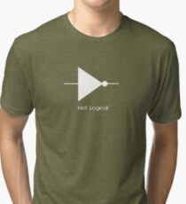 Not Logical  - T Shirt Tri-blend T-Shirt