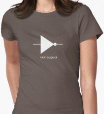 Not Logical  - T Shirt Women's Fitted T-Shirt