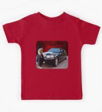 Teddy Bear Limousine Chauffeur Kids (CHILDRENS) Tee Shirt Kids Tee
