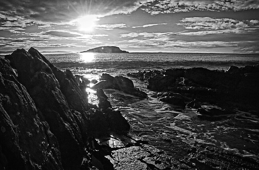 Sunrise in Black and White by Ginter