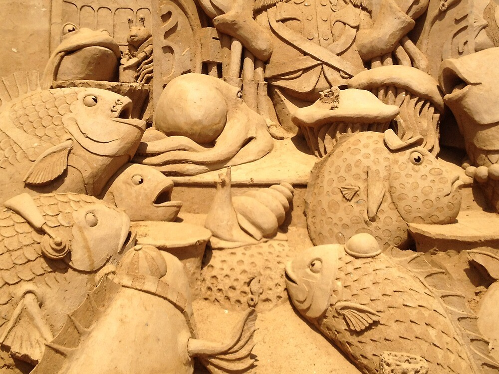 sand sculpture 2 by NarelleH