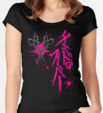 Dangan Ronpa: Genocider Syo Bloodstain Fever t-shirt Women's Fitted Scoop T-Shirt