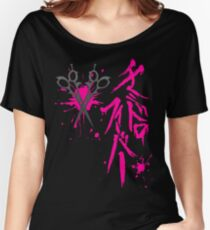 Dangan Ronpa: Genocider Syo Bloodstain Fever t-shirt Women's Relaxed Fit T-Shirt
