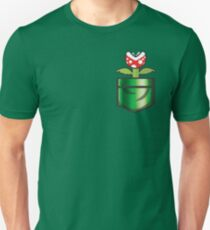 Mario - Piranha Plant Pocket T-Shirt