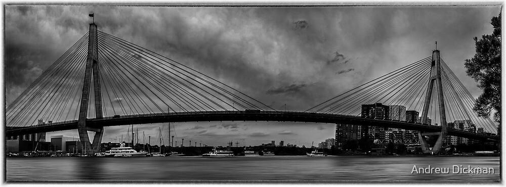 Anzac Bridge by Andrew Dickman