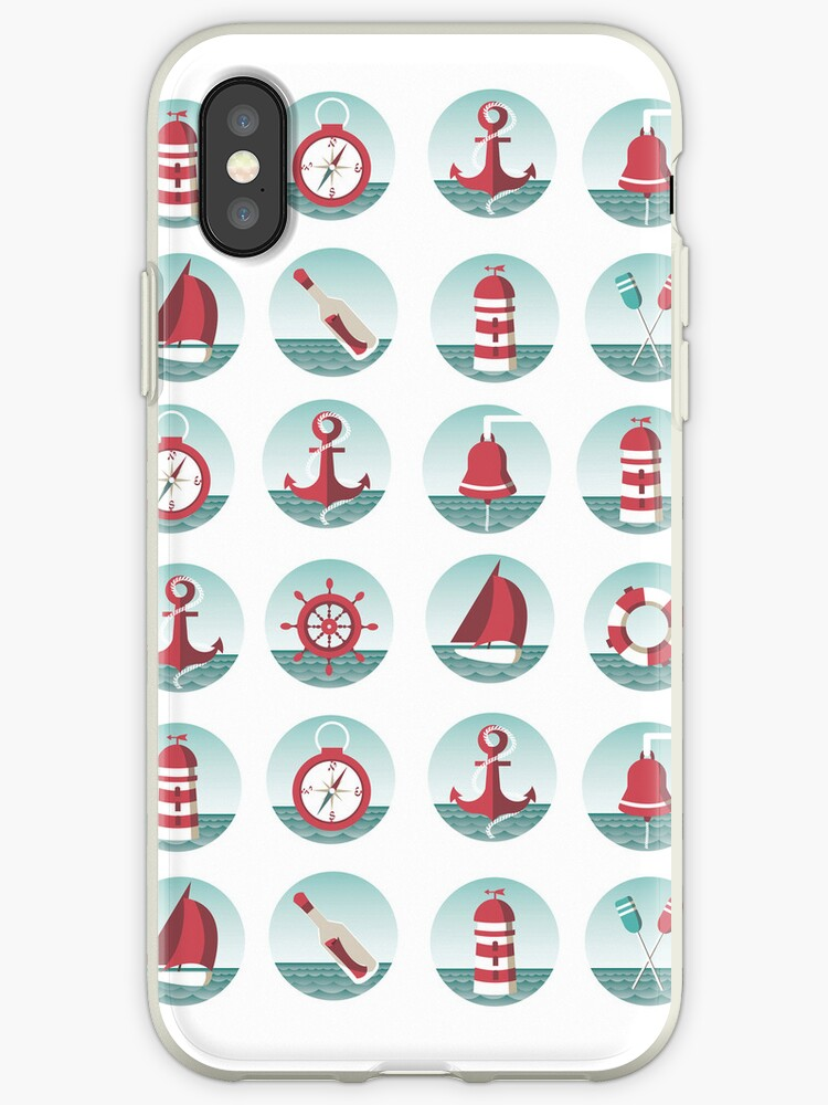 Nautical theme with sea elements by Sabelskaya