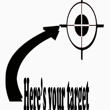 Heart, target by Tshepotau