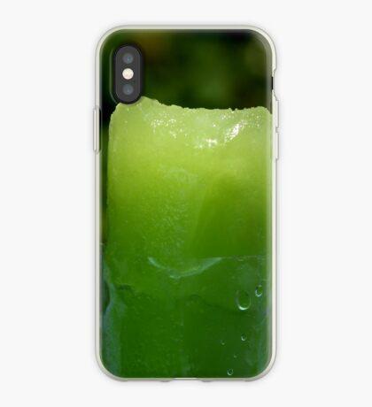 Lime Freeze Pop iPhone Case