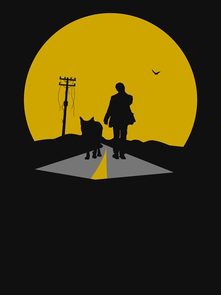 The Lone Strutter by OrangeRakoon