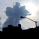 Hazy Summer Afternoon, New York City  by Alberto  DeJesus