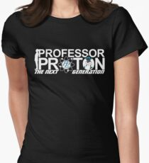 Professor Proton The Next Generation Women's Fitted T-Shirt