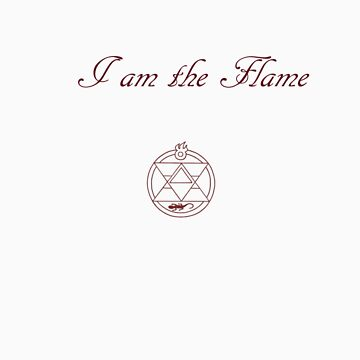 I am the flame by Not0my0division
