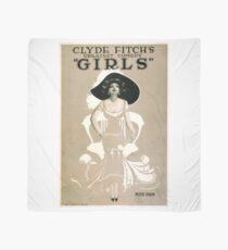 Vintage poster - Girls Scarf