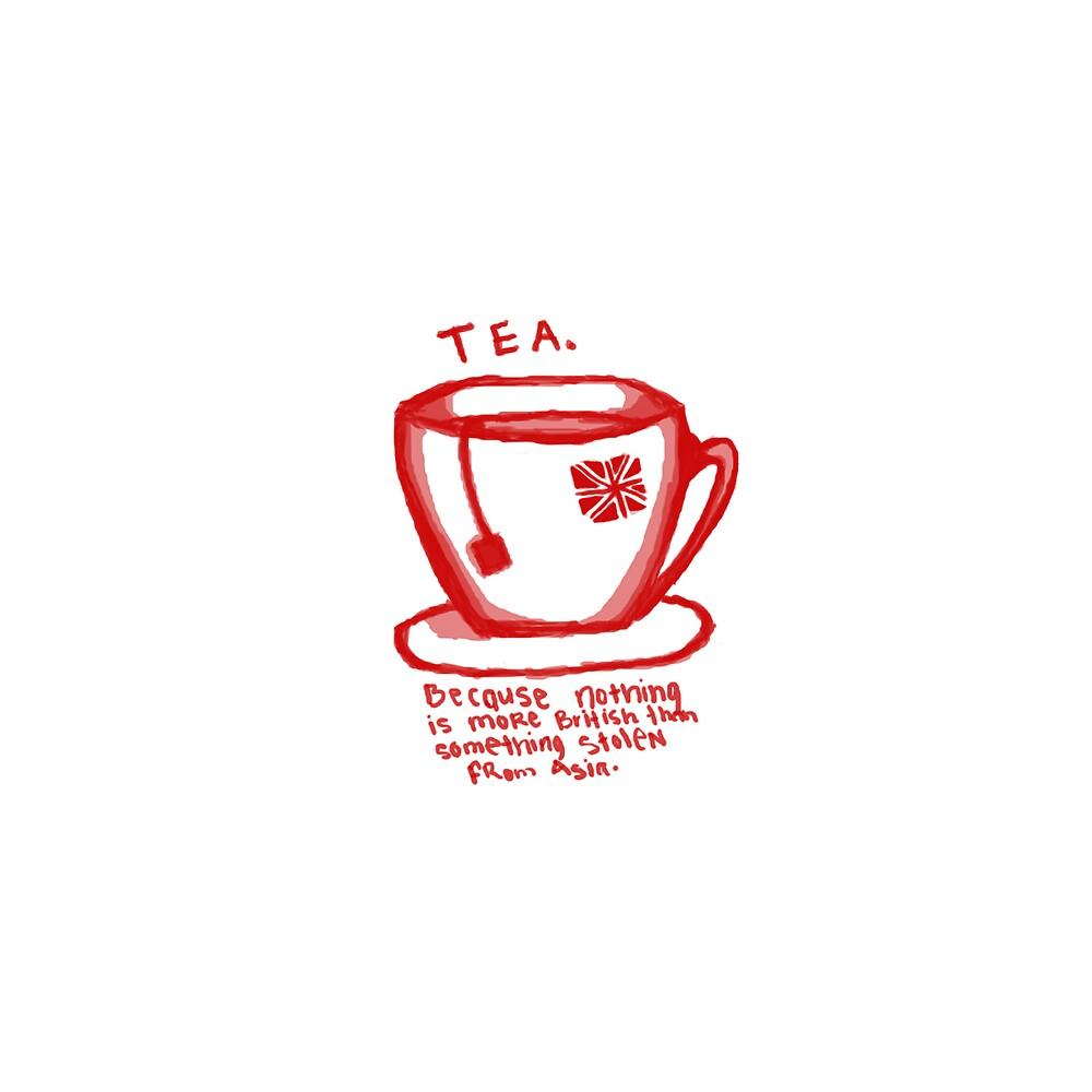 Tea: Print by Goat !