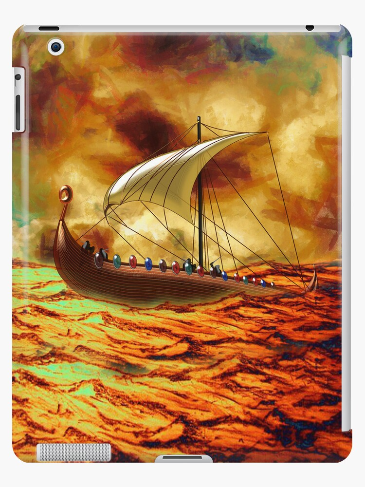 The Vikings are Coming iPad case by Dennis Melling