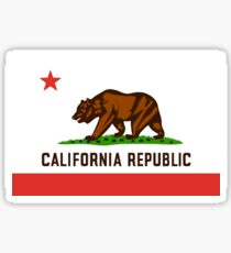 California Bear Flag Republic Sticker