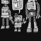 «¡MIRE MI! Niño robot» de jarhumor