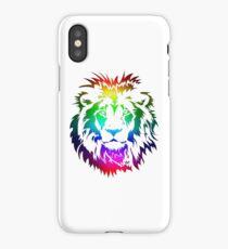 Colourful Lion Head Art iPhone Case/Skin