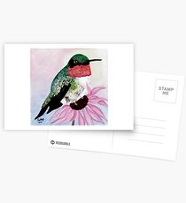 Ruby-throated Hummingbird Postcards