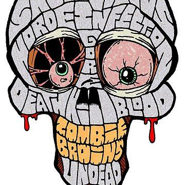 Skull Words by Skree