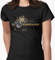 Urban Music Design Women's Fitted T-Shirt