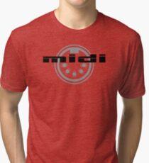 MIDI logo Tri-blend T-Shirt