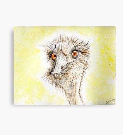 Silly EMU Canvas Print