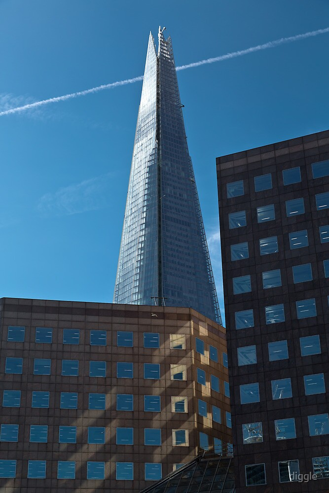 A Little Shard in the Morning by diggle