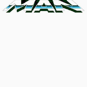 Mega Man - Megaman Logo by Fayzun