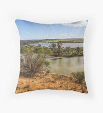 Ps Marion - Bow Hill Cliffs Throw Pillow