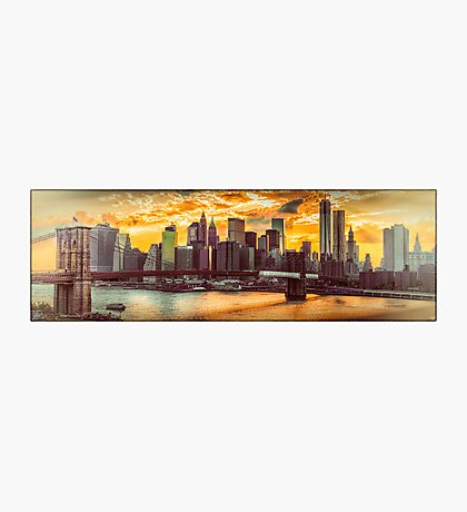 New York City Summer Panorama Photographic Print