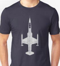 Lockheed F-104 Starfighter Unisex T-Shirt
