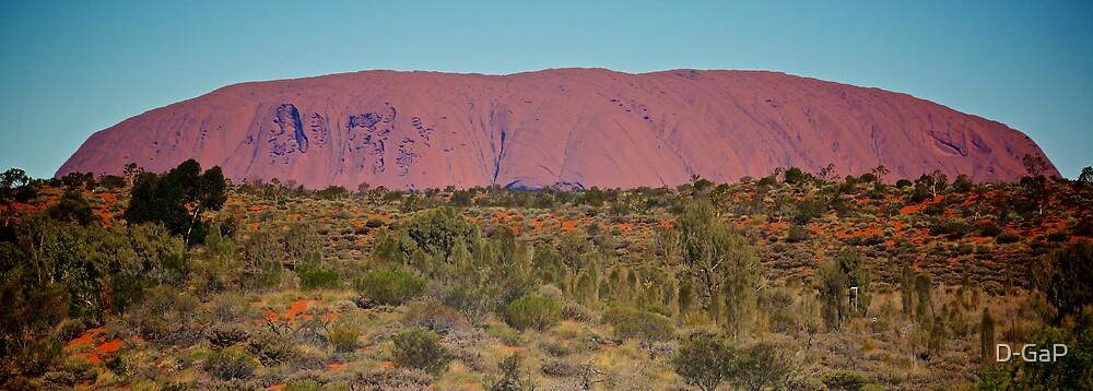 Uluru  by D-GaP