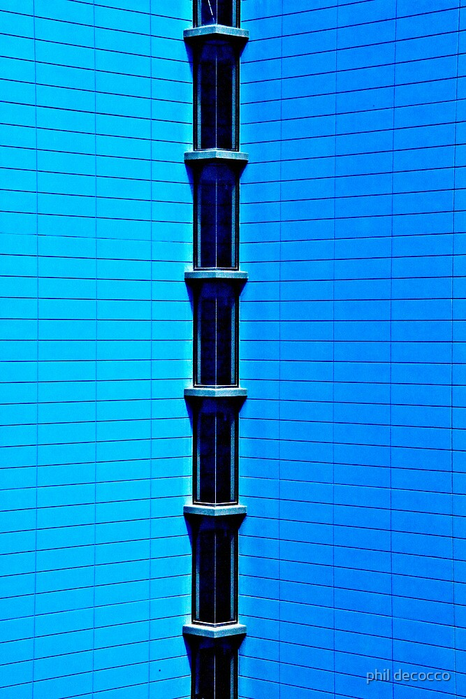 Blue Architecture by phil decocco