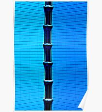 Blue Architecture Poster