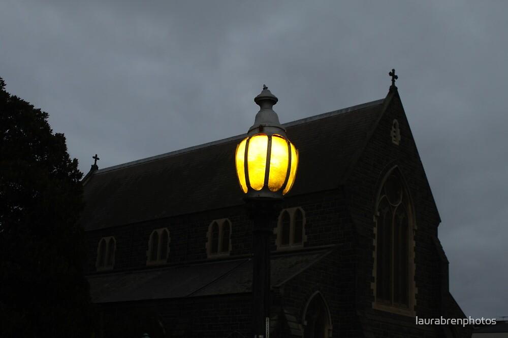 Church Light  by laurabrenphotos