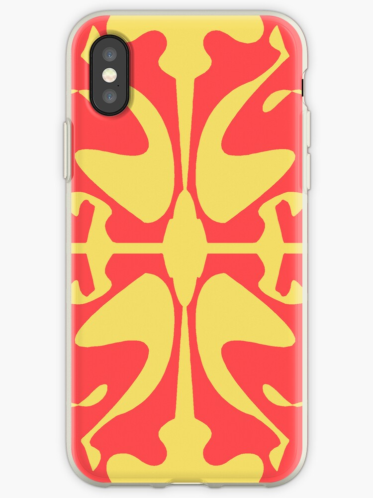 Red & Yellow Design for iPhone & iPod by GJPart