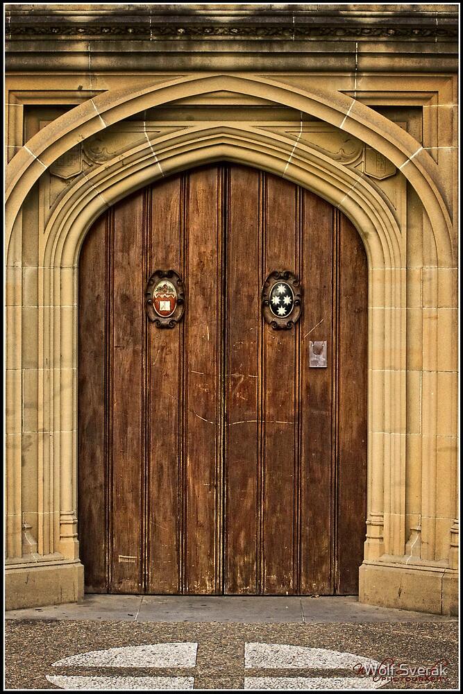 Church Door in Sydney by Wolf Sverak
