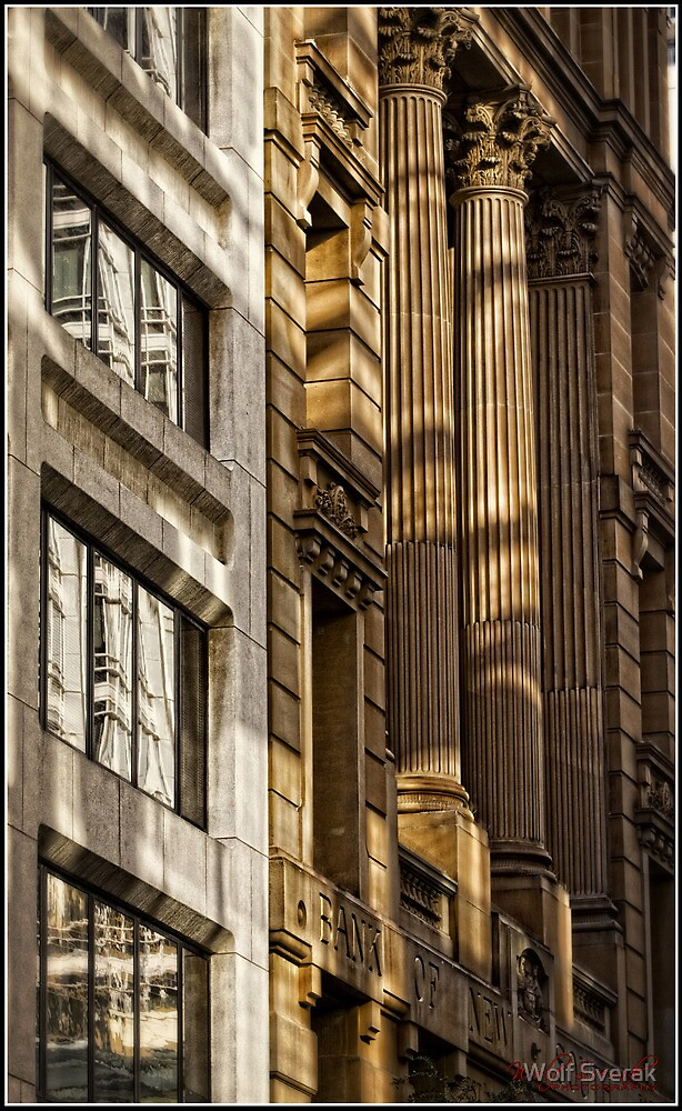 Old and New Side by Side in Sydney CBD by Wolf Sverak