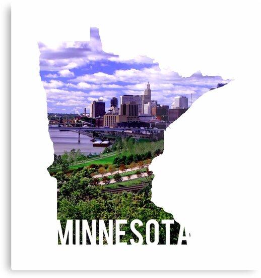 Minnesota - St. Paul by Daogreer Earth Works