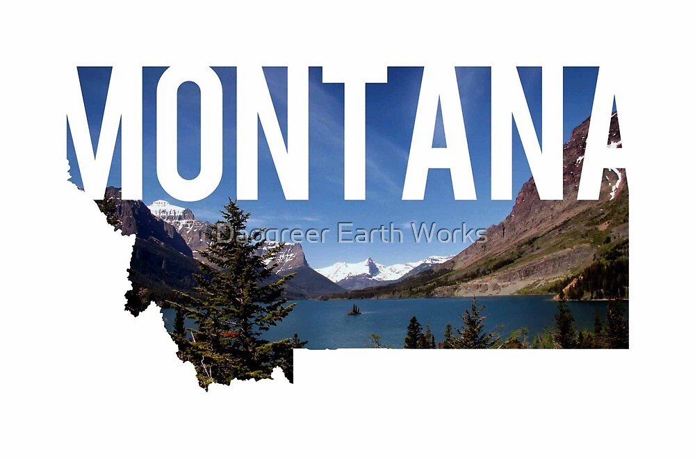 Montana Mountains by Daogreer Earth Works