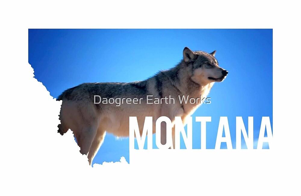 Montana Wolf by Daogreer Earth Works
