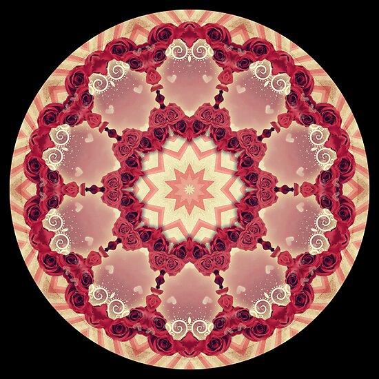 Rose Kaleidoscope by fantasytripp