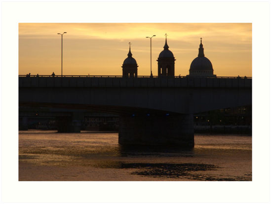 dettman,robert,robert dettman,St Pauls Cathedral, London by Robert Dettman