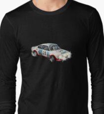 VINTAGE RALLY CAR. Long Sleeve T-Shirt