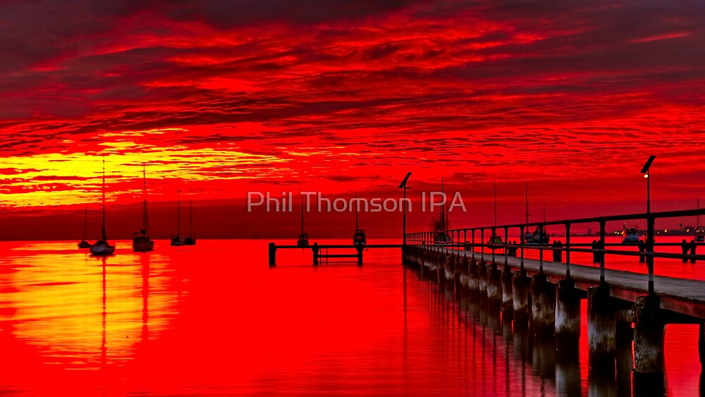 """""""Fire In The Gully"""" by Phil Thomson IPA"""
