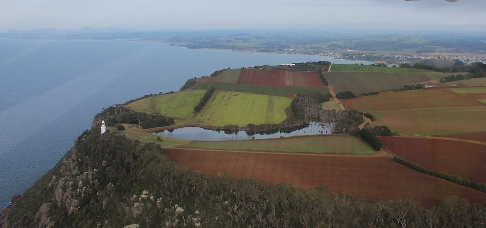 Table Cape - Wynyard - from the air!  by gaylene