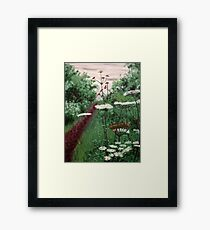 Death of paradise Framed Print